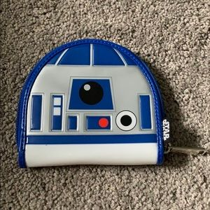 NWOT R2D2 wallet from loungefly
